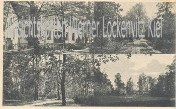 Ansichtskarte Polen Schlesien Węglewo Żmigród Wanglewe Post und Bahn Pakuswitz Hausansicht