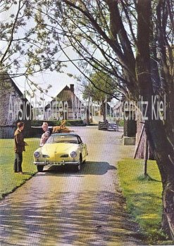 Ansichtskarte VW Karmann-Ghia Typ 14