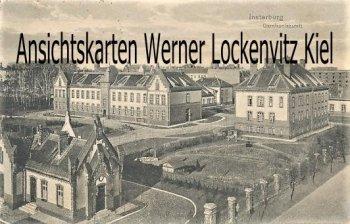 Ansichtskarte Insterburg Tschernjachowsk Черняховск Garnisonlazarett