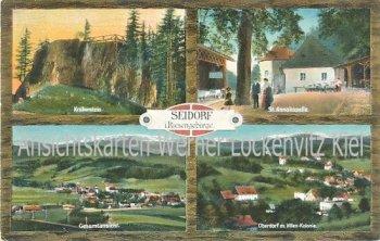 Ansichtskarte Seidorf Sosnówka Ortsansichten Riesengebirge