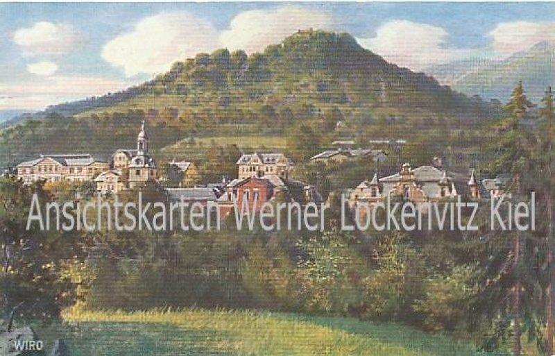 Ansichtskarte Bad Blankenburg Ruine Greifenstein Schwarzatal