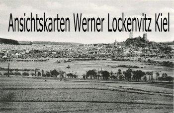 Ansichtskarte Münzenberg Blick auf die Stadt