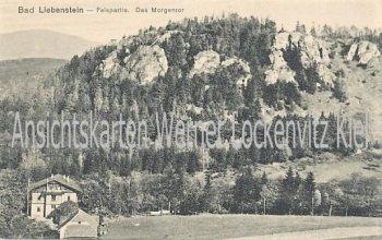 Ansichtskarte Bad Liebenstein Felspartie Das Morgentor