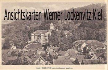 Ansichtskarte Bad Liebenstein vom Aschenberg gesehen