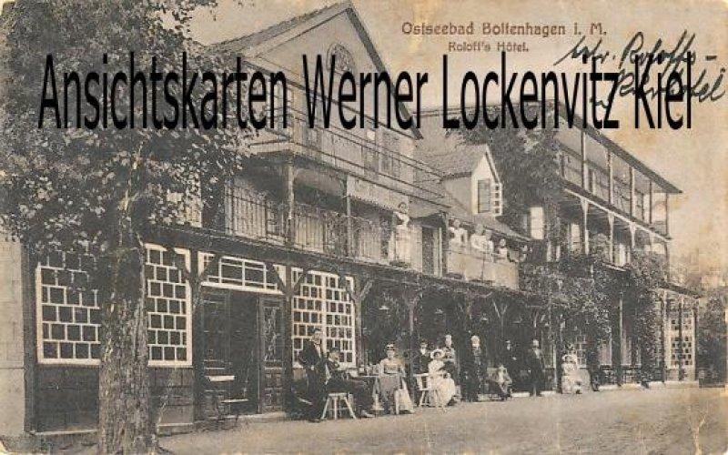 Ansichtskarte Boltenhagen Roloffs Hotel