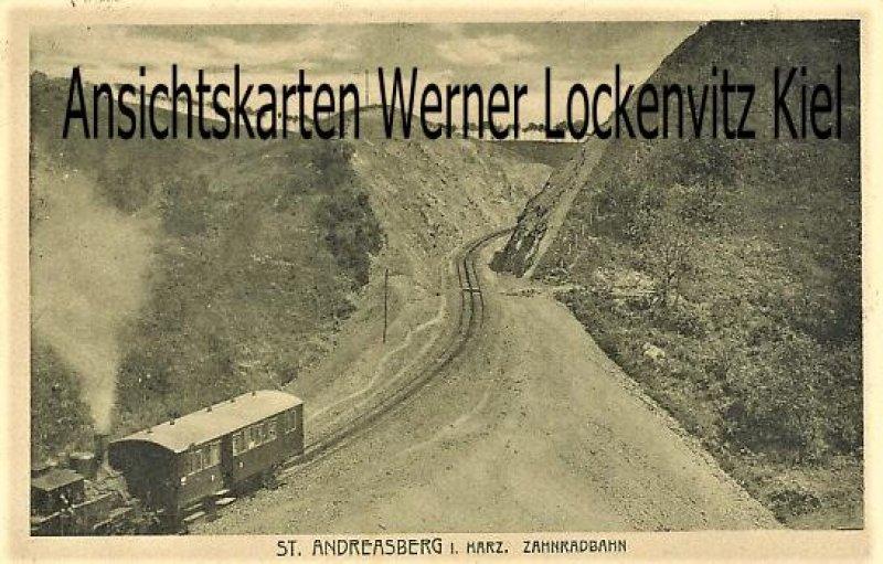 Ansichtskarte St. Andreasberg Zahnradbahn