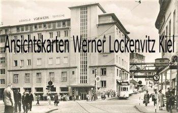 Ansichtskarte Wuppertal-Elberfeld Alte Freiheit mit Straßenbahn