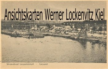 Ansichtskarte Staßfurt-Leopoldshall Strandbad