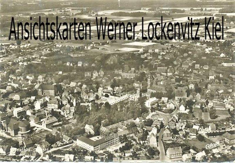 Ansichtskarte Coesfeld Ortsansicht Luftbild