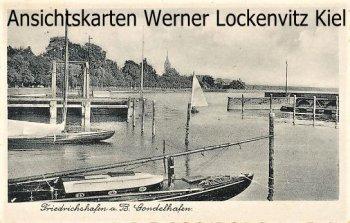 Ansichtskarte Friedrichshafen a. B. Gondelhafen