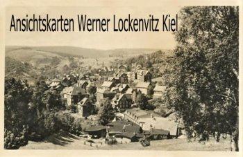 Ansichtskarte Lauscha Blick auf die Stadt