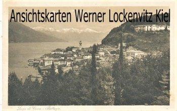 Ansichtskarte Cartolina Postale Italien Italia Bellagio Ortsansicht Lago di Como Lombardei