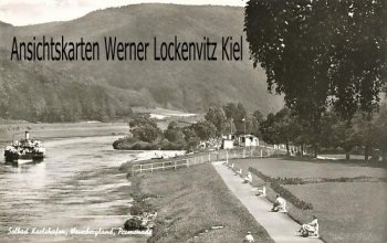 Ansichtskarte Bad Karlshafen Promenade
