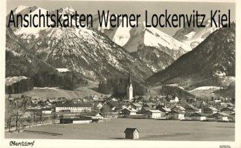 Ansichtskarte Oberstdorf Ortsansicht