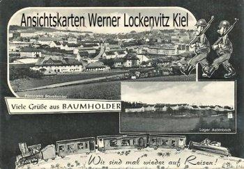 Ansichtskarte Baumholder Ortsansicht Lager Aulenbach