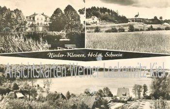Ansichtskarte Bösdorf-Niederkleveez Ortsansichten