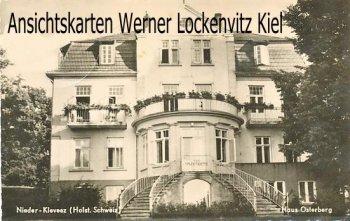 Ansichtskarte Bösdorf-Niederkleveez Haus Osterberg