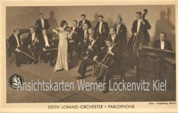 Ansichtskarte Edith Lorand-Orchester Parlophone