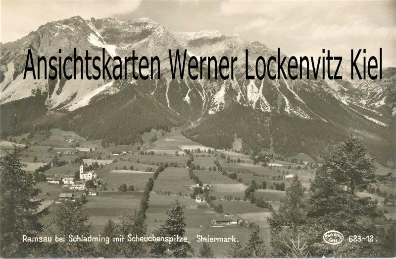 Ansichtskarte Österreich Ramsau am Dachstein Ortansicht