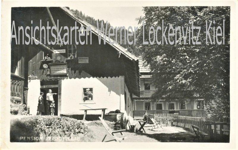 Ansichtskarte Österreich Gailtal Pension Reißkofelbad Kärnten