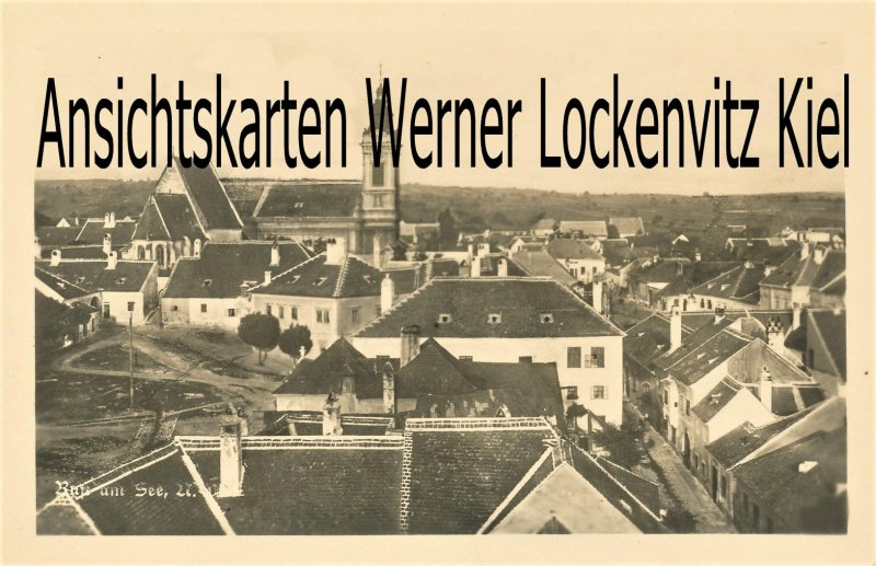 Ansichtskarte Österreich Rust am See N.D. Ortsansicht Burgenland