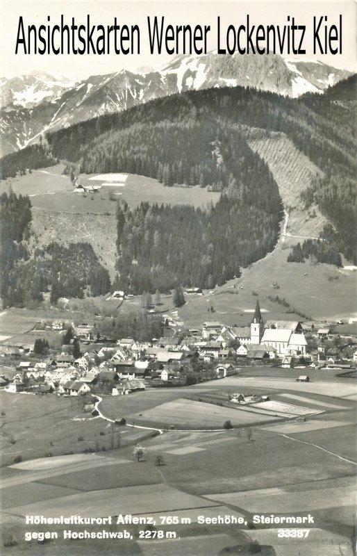Ansichtskarte Österreich Ortsansicht von Aflenz Steiermark