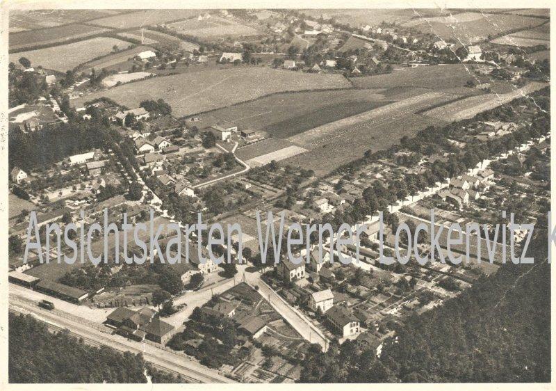 Ansichtskarte Pansdorf Ortsansicht Luftbild