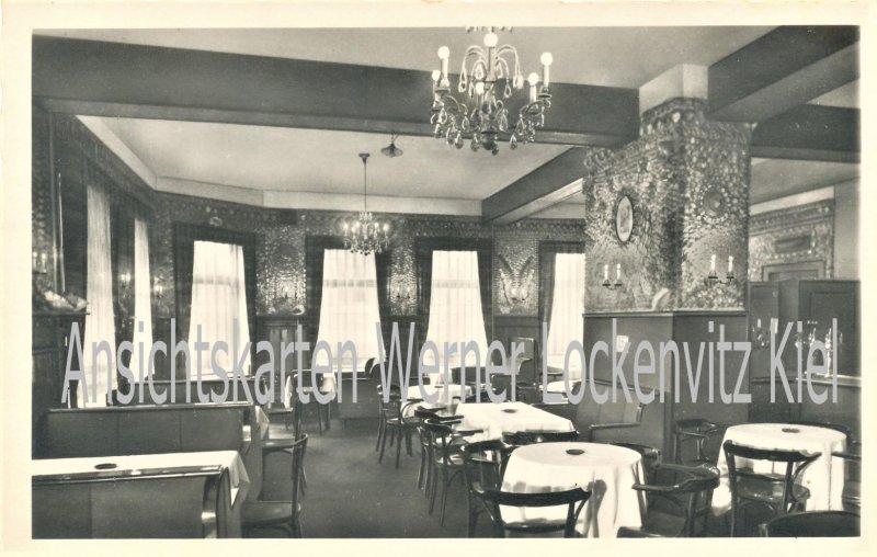 Ansichtskarte Büsum Kolles Gaststätte Alter Muschelsaal