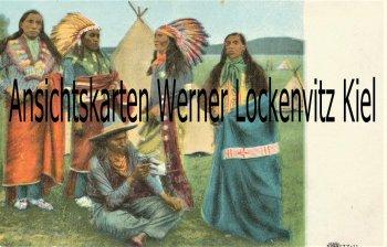 Ansichtskarte USA Indianer indians Native Americans