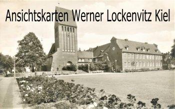 Ansichtskarte Lübeck-Kücknitz Kirchplatz