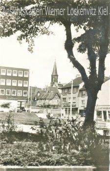 Ansichtskarte Wuppertal-Ronsdorf Marktplatz