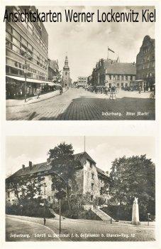 Ansichtskarte Insterburg Tschernjachowsk Черняховск Alter Markt