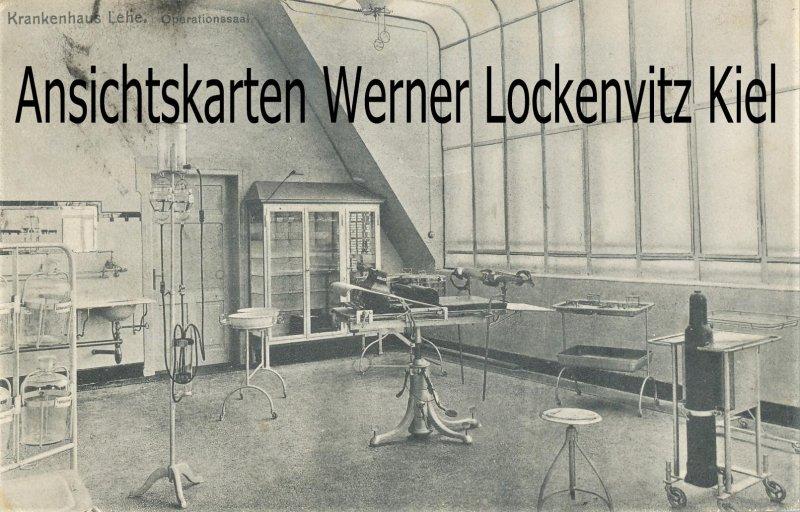 Ansichtskarte Bremerhaven-Lehe Krankenhaus Operationssaal