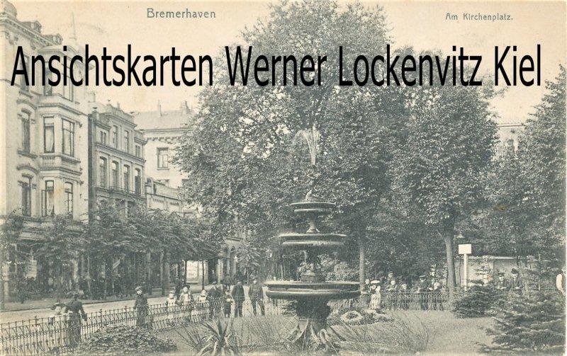 Ansichtskarte Bremerhaven Am Kirchenplatz