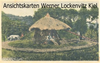 Ansichtskarte Postcard Karibik British West Indies Saint Lucia Cattle Mill