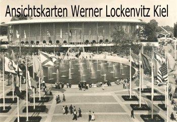 Ansichtskarte Exposition de Bruxelles EXPO 1958 Pavillon der USA