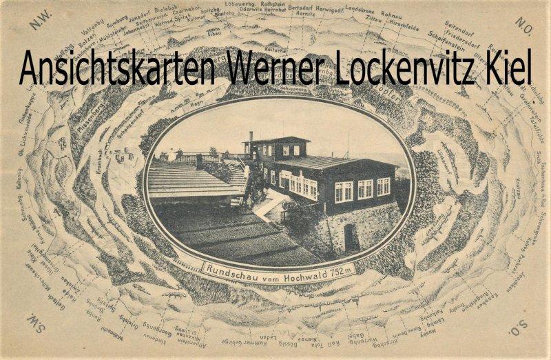 Ansichtskarte Rundschau vom Hochwald