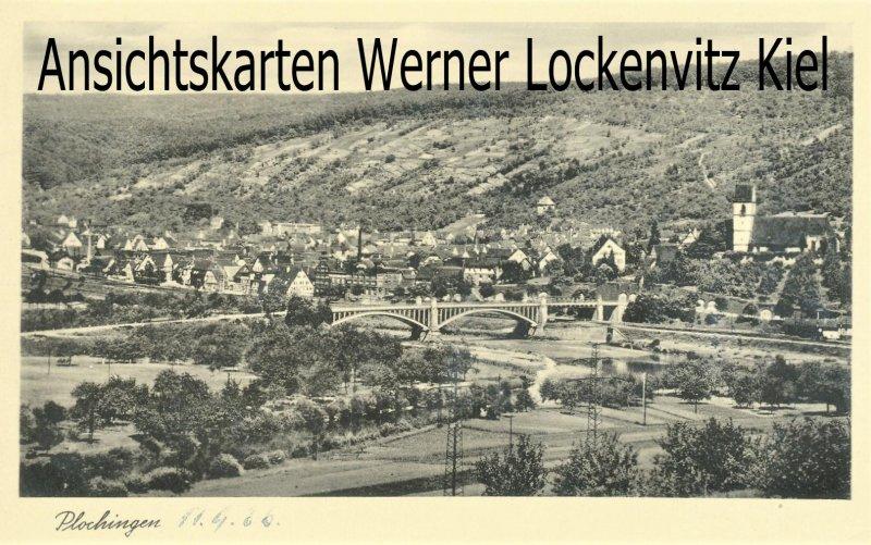 Ansichtskarte Plochingen Ortsansicht