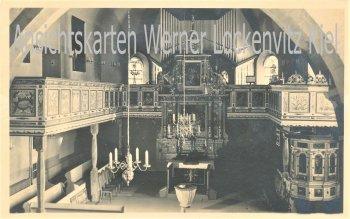 Ansichtskarte Innenansicht einer Kirche mit Orgel