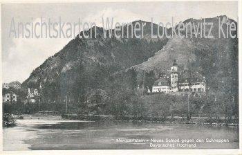 Ansichtskarte Marquartstein Neues Schloß