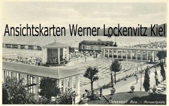 Ansichtskarte Ostseebad Binz auf Rügen Konzertplatz