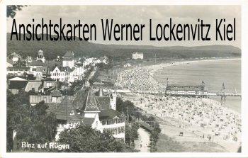 Ansichtskarte Ostseebad Binz auf Rügen Ortsansicht
