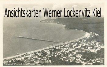 Ansichtskarte Ostseebad Binz auf Rügen Ortsansicht Luftbild
