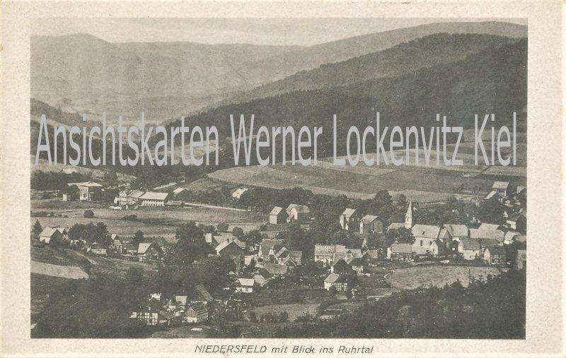 Ansichtskarte Winterberg-Niedersfeld Blick ins Ruhrtal