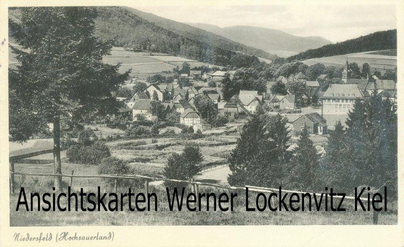 Ansichtskarte Winterberg-Niedersfeld Panorama