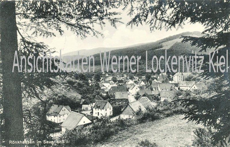 Ansichtskarte Finnentrop-Rönkhausen Ortsansicht