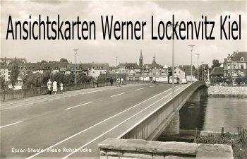 Ansichtskarte Essen Neue Ruhrbrücke