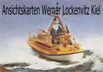 Ansichtskarte Strandrettungsboot Eduard Nebelthau Seenot Seerettung DGzRS Schiffe