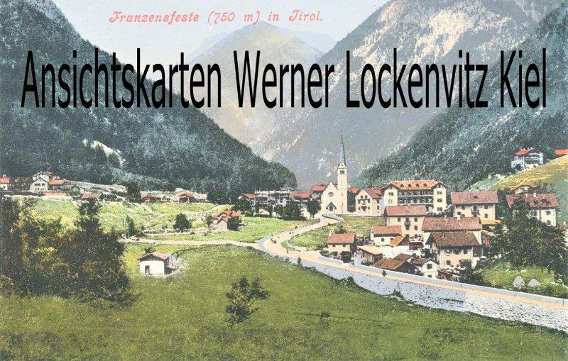 Ansichtskarte Cartolina Postale Italien Italia Franzensfeste Fortezza Panorama Südtirol