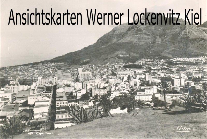 Ansichtskarte Südafrika Ortsansicht von Kapstadt Cape Town